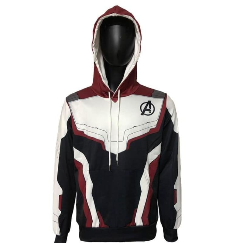Avenger Endgame Hoodies Cosplay Avengers Jackets 3D Pullover Sweatshirt Superheros Hooded Zipper - My Web Store Shopping
