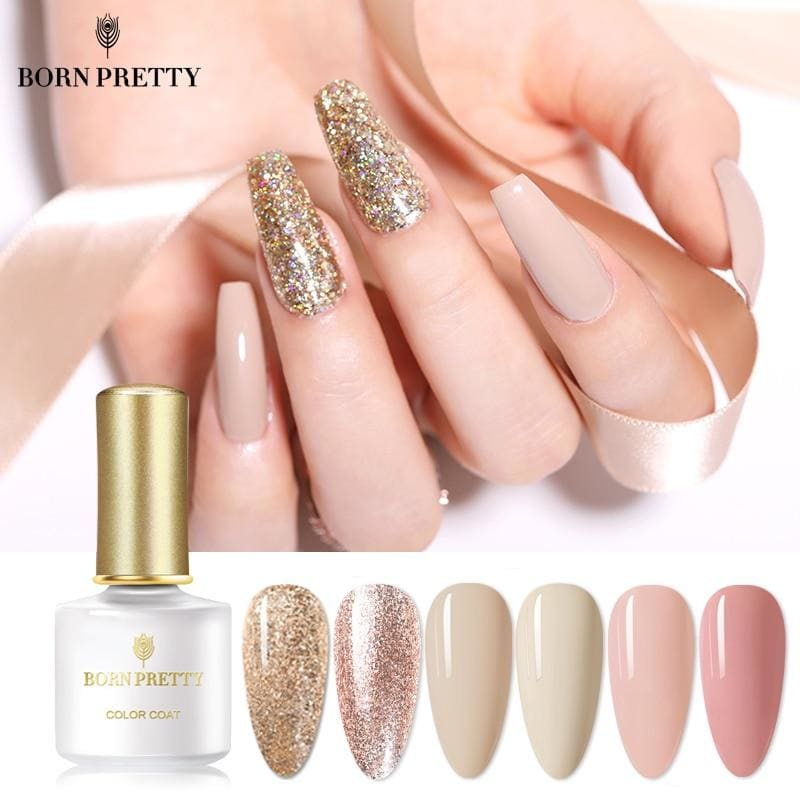 6ml Gel Nail Polish Colorful Soak Off UV Gel Polish Pure-Nail-Color Gel Manicuring Matte Effect Need - My Web Store Shopping
