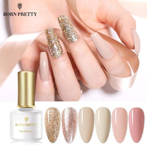 Load image into Gallery viewer, 6ml Gel Nail Polish Colorful Soak Off UV Gel Polish Pure-Nail-Color Gel Manicuring Matte Effect Need - My Web Store Shopping