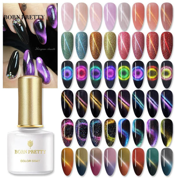 Cat Eye Gel Nail Polish 9D Magnetic Effect Soak Off UV LED Gel Polish Gel Varnish Lacquers 5ML/6ML - My Web Store Shopping