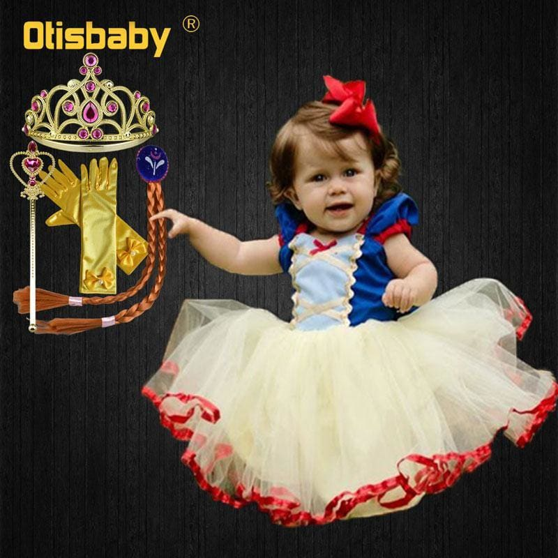 Girls Snow White Dress Fancy Tutu Dress for Children Toddler Girls  Clothing Baby Birthday Party Dress Frocks - My Web Store Shopping