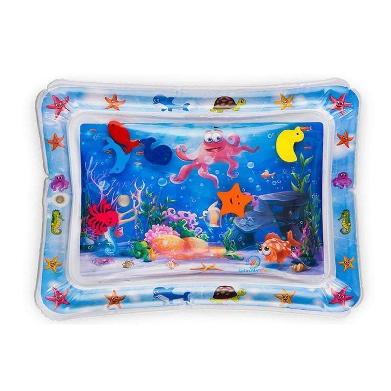 Baby Kids Water Play Mat Toys Inflatable thicken PVC infant Tummy Time Playmat - My Web Store Shopping