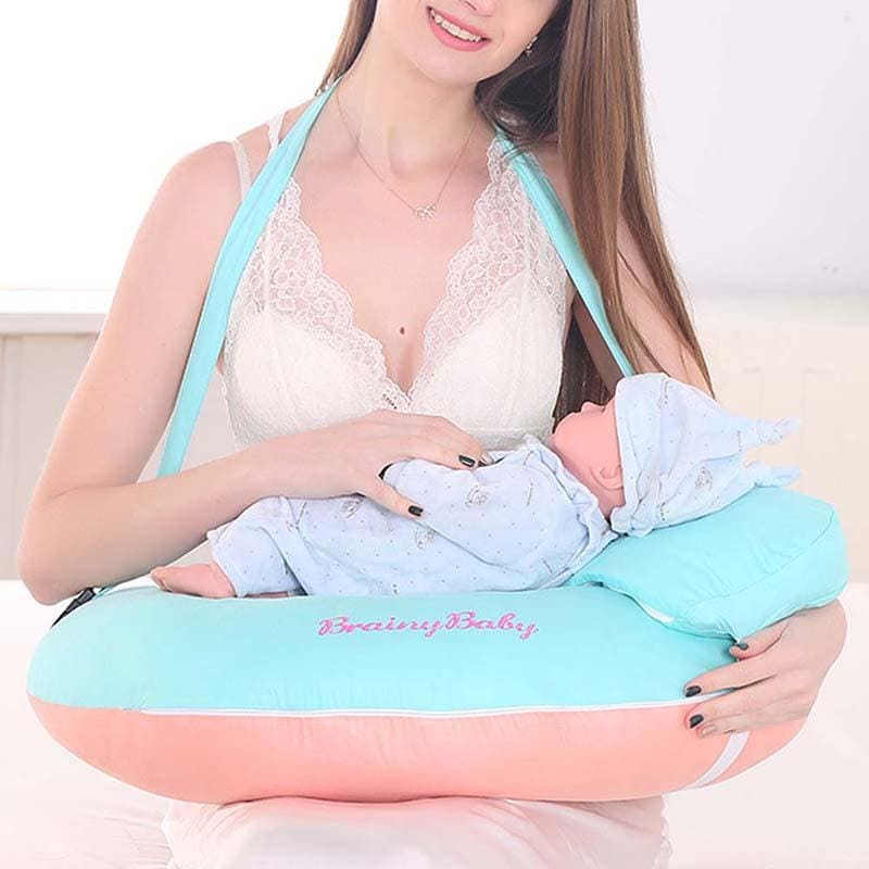 Baby Nursing Pillows Maternity Baby U-Shaped Breastfeeding Pillow Infant Cuddle Cotton Feeding Waist - My Web Store Shopping