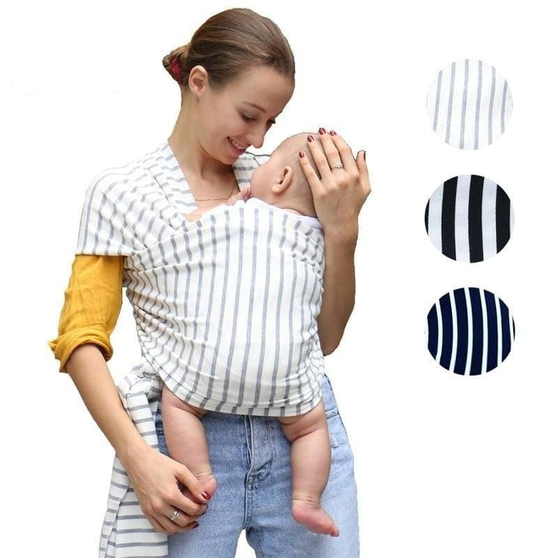 Baby Sling Stretchy Wrap Carrier Adjustable Infant Comfortable Breathable Baby Slings - My Web Store Shopping