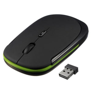 Load image into Gallery viewer, 2.4G wireless mouse USB Receiver ultra thin Slim Mini Wireless Optical Mouse Mice for Laptop PC - My Web Store Shopping