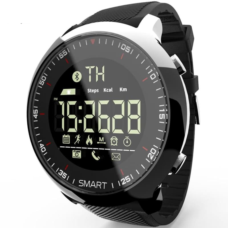 Bluetooth Smart Watch Waterproof Pedometer Outdoor Sport Watch Multifunction for ios Android phone - My Web Store Shopping