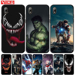 Case For Honor 7A Pro 8S P Smart Z Marvel Venom Hulk Iron Man Phone Cover For Huawei Y5 Lite Y6 Prime 2018 2019 Y7 Y9 Prime 2019 - My Web Store Shopping