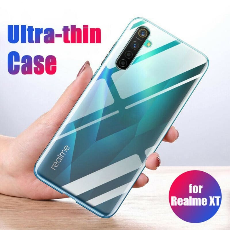 Case For OPPO Realme XT X2 X TPU Silicone Clear Fitted Bumper Soft Case on the Realme XT 730G Transparent Back Cover - My Web Store Shopping