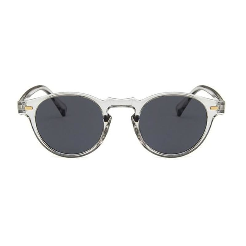 Classic Fashion Resin And Exquisite Gogerous Rice Nail Retro Small Frame Sunglasses - My Web Store Shopping
