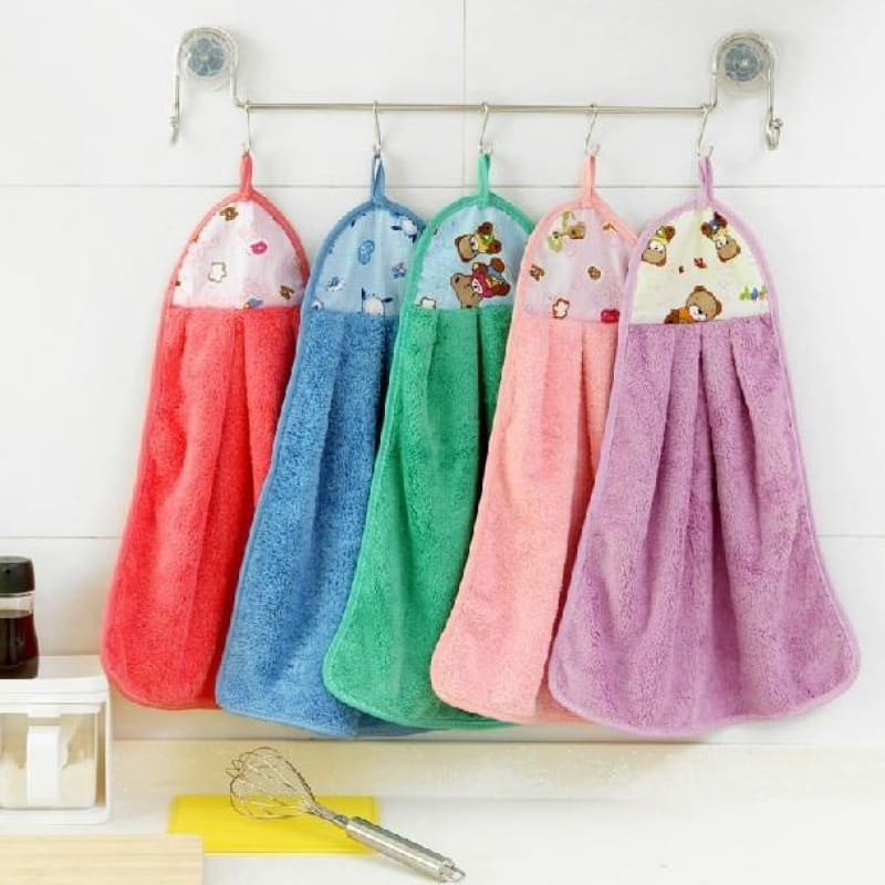 Cloth Microfiber Kitchen Towels Towel Novelties For Kitchen Cleaning - My Web Store Shopping