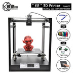 Creative3D Best New CoreXY Elf Double z axis 3D Printer, High Precision Aluminum Profile Frame Large - My Web Store Shopping