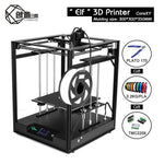 3D CoreXY structure Remote Elf 3D printer,High-precision Aluminium Profile Frame Big Area Kit Double - My Web Store Shopping
