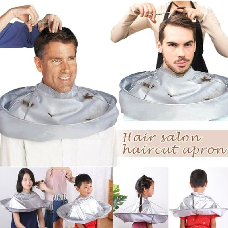 Load image into Gallery viewer, Hair Cutting Cloak Umbrella Cape Hair Shave Apron Cover Household Cleaning Protecter - My Web Store Shopping