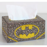 Diamond painting tissue box Three-dimensional handmade art cosmetic tissue dispenser Children's - My Web Store Shopping