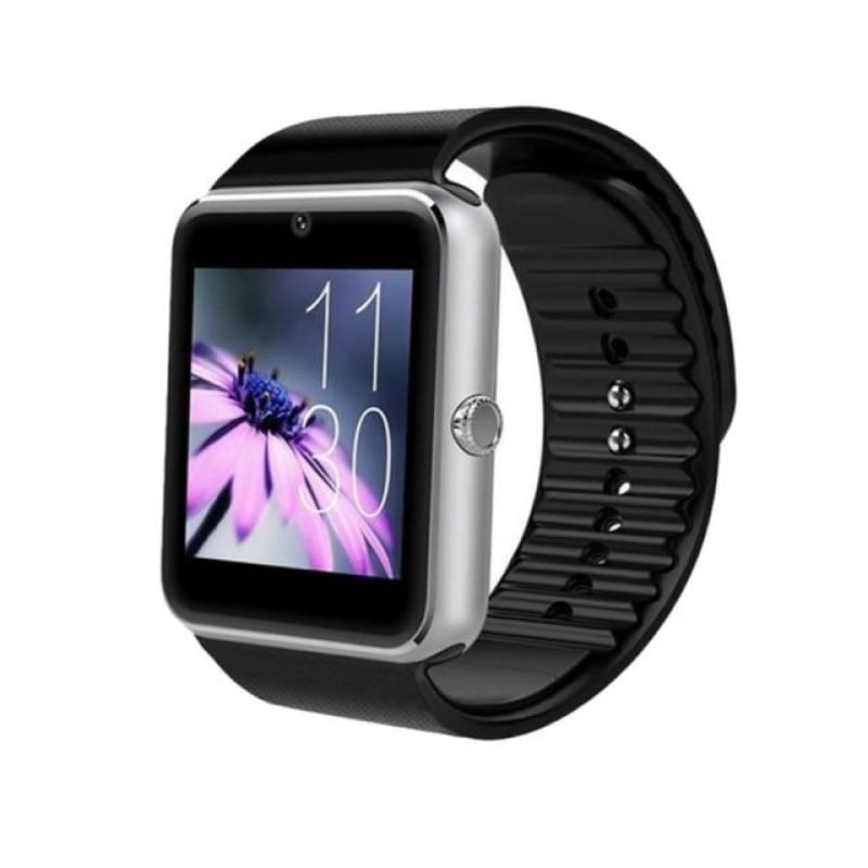 Digital LCD Watch Card Bluetooth 3.0 GT08 Wear Watch Multi-Language Health Monitoring Sports - My Web Store Shopping