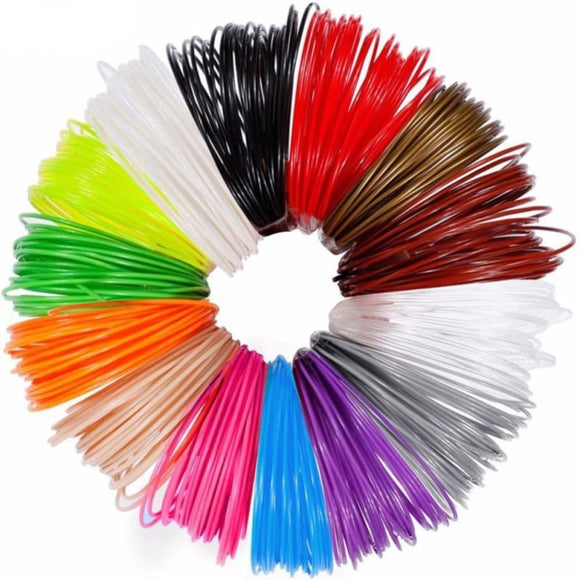 Dikale 3D Pen Special 1.75mm PLA Filament 3D Printing Material 3D Printer 12Color Refills Modeling - My Web Store Shopping