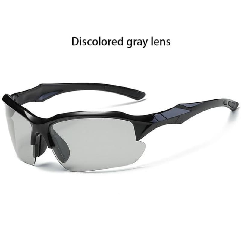 Discolor Polarized Cycling  Photosensitive lens Outdoor Sports Sunglasses UV400 Bike Windproof Ladies - My Web Store Shopping