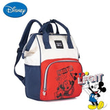 Disney Diaper Bag Backpack Insulation Bags Minnie Mickey Big Capacity Travel Oxford Feeding Baby - My Web Store Shopping