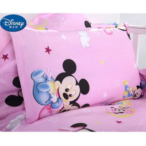 Load image into Gallery viewer, Disney Mickey Minnie Cotton Pillow case Red Cute Cushion case Children baby girl Pillow Cover - My Web Store Shopping