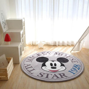 Load image into Gallery viewer, Disney Mickey Minnie Mouse Rug Child Baby Crawling Game Mat Carpet Indoor Welcome Soft Four Season - My Web Store Shopping