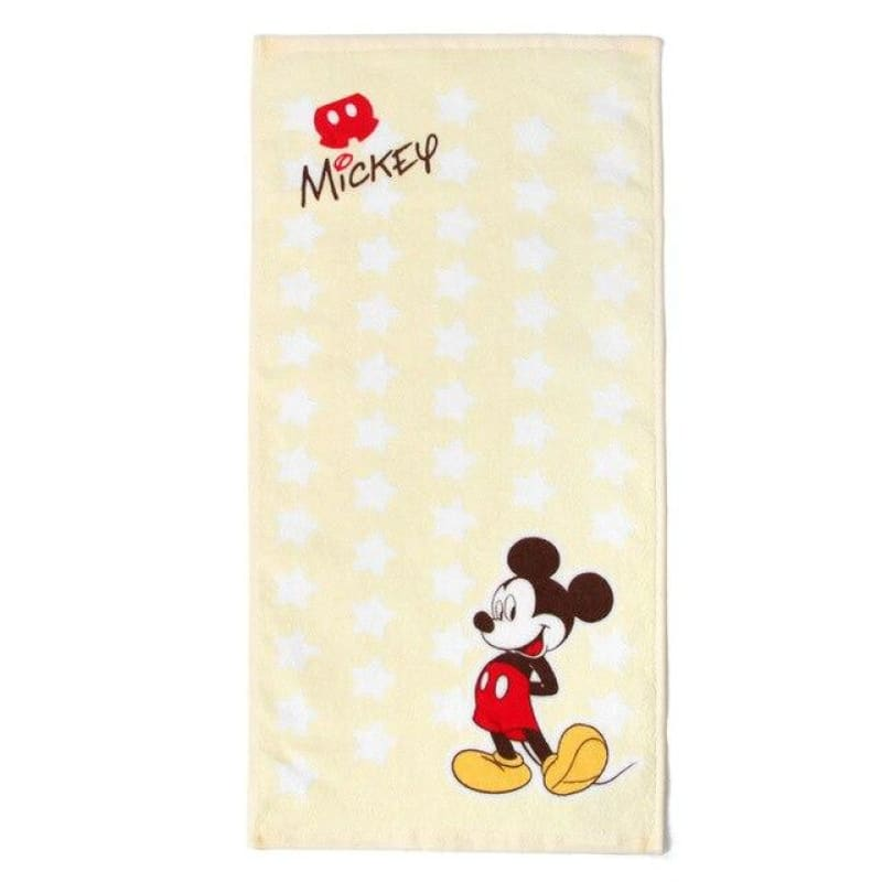 Disney Towel 100%Pure Cotton Wiping face Wiping hair Water absorption Adult children towel children - My Web Store Shopping