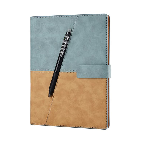 Drawing Writing Leather Spiral A5 Notebook Smart Reusable Erasable Journal Notepad Elfinbook X - My Web Store Shopping