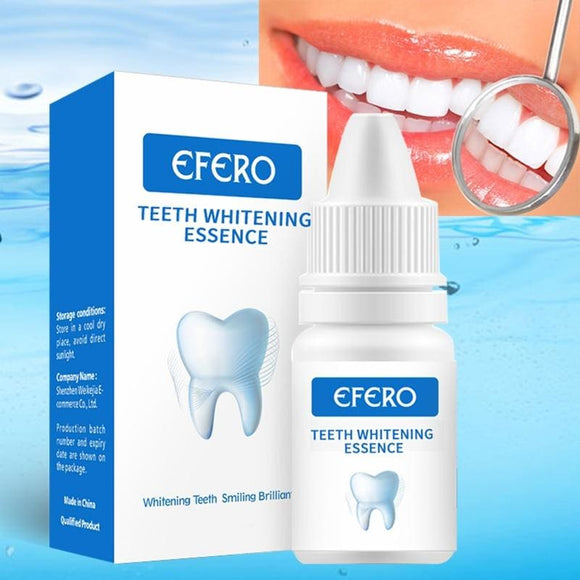 Teeth Whitening Serum Gel Dental Oral Hygiene Effective Remove Stains Plaque Teeth Cleaning Essence - My Web Store Shopping