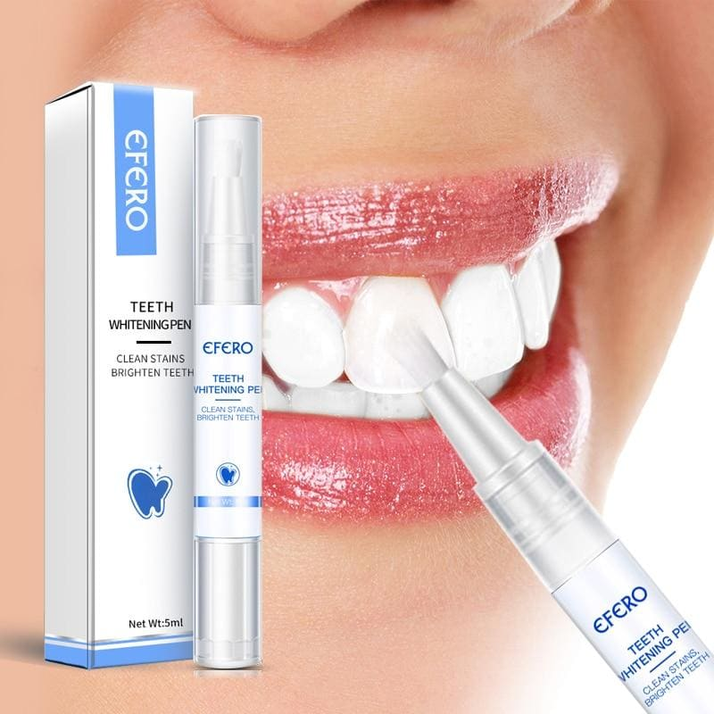 White Teeth Whitening Pen Tooth Gel Whitener Bleach Remove Plaque Stains Dental Tools Oral Hygiene Teeth Cleaning Serum - My Web Store Shopping