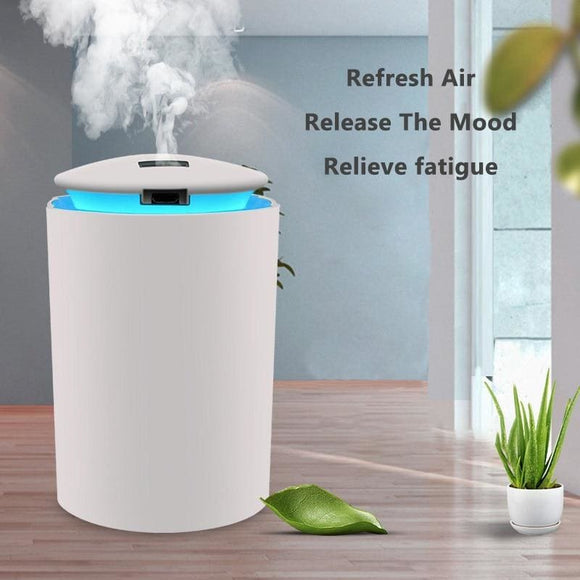 Mini Air Humidifier For Home USB Bottle Aroma Diffuse LED Back light - My Web Store Shopping