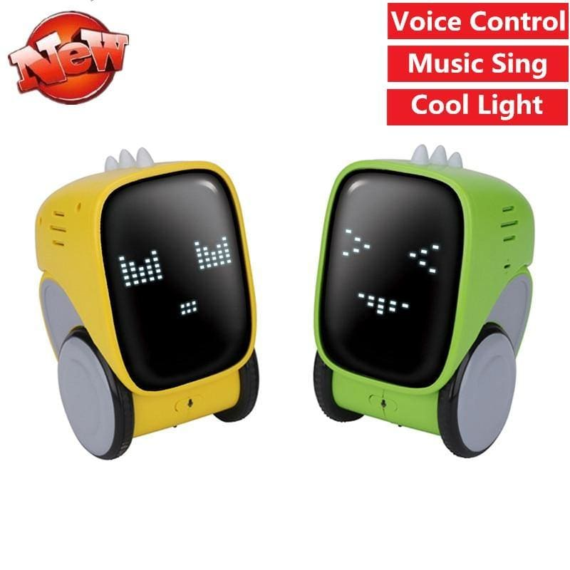 Education Toy Intelligent Robot Gesture Touch Dancing Music Voice Control Sound Recording - My Web Store Shopping