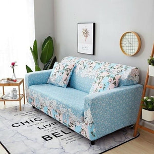 Load image into Gallery viewer, Elastic Polyester Modern Style Sofa Cover Spandex Print Living Room Couch Slipcover Chair Furniture Protector 1/2/3/4 Seater - My Web Store Shopping
