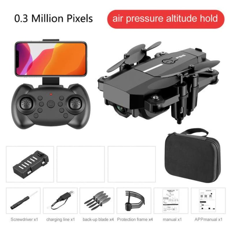 FPV Quadcopter Profissional HD 1080P Mini Drone Cameras F86 Fold Drones With Camera Toys For - My Web Store Shopping