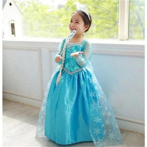 Load image into Gallery viewer, Fancy Anna Girls Princess Dresses Cosplay Party Summer Baby Kids Children Baby Girl Clothes - My Web Store Shopping