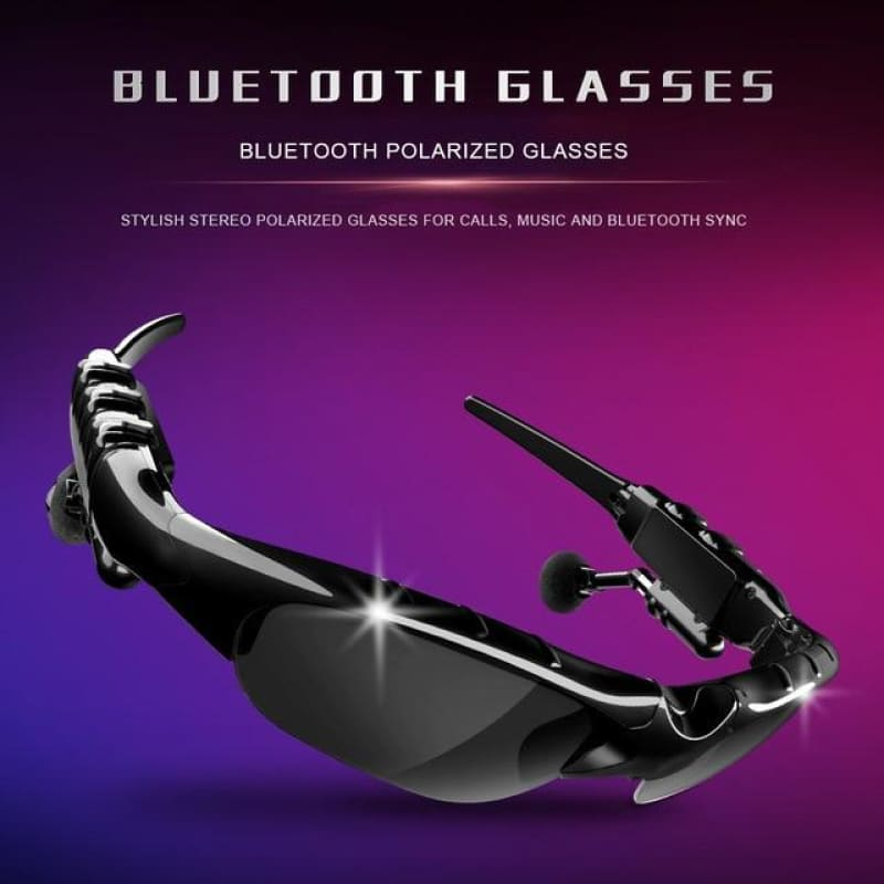 Fashion Sunglasses Bluetooth 5.0 Earphone Headset X8S Headphones Smart Glasses Outdoor Sport Cycling - My Web Store Shopping