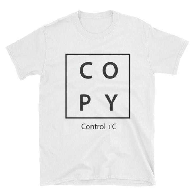 Copy Ctrl C V Print Daddy and Baby Matching T Shirts Family Look Tees Family Matching Clothes Father Son Sets - My Web Store Shopping