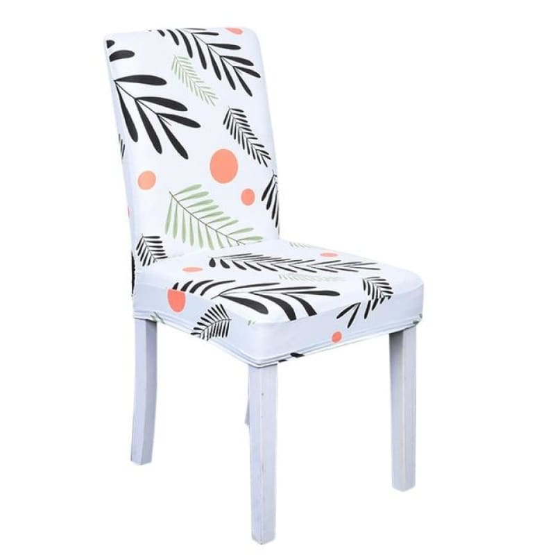 Load image into Gallery viewer, Floral Print Elastic Chair Covers Home Dining Spandex Stretch Seat Slipcover Removable Washable For Banquet Home Hotel Dining - My Web Store Shopping