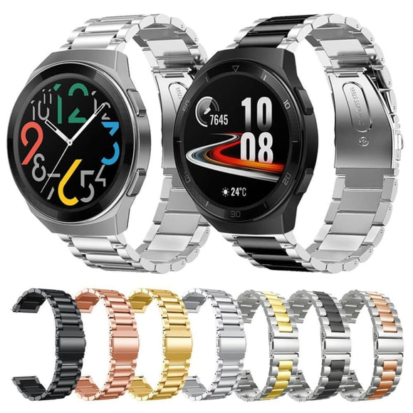 Huawei Watch GT 2e Strap Stainless Steel Metal Band for huawei watch gt 2e 46mm Bracelet - My Web Store Shopping