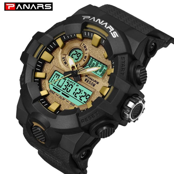 G style Sports Quartz Watch Men's Digital Watch Outdoor Army military Multifunction Waterproof - My Web Store Shopping