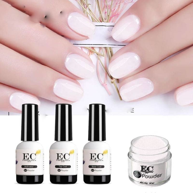 10G Nail Dip Kit Manicure Powder Colored Acrylic French Lacquer No Uv Light Gel Polish - My Web Store Shopping