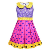 Girl Fancy Nancy Lol Dress Cosplay Cartton Dolls Costume BabyColorful Clothes Kids Summer - My Web Store Shopping