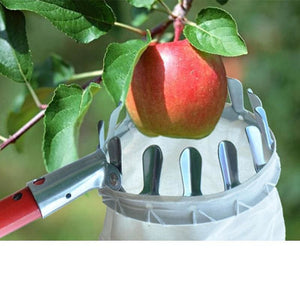 High Quality Metal Fruit Picker Convenient Gardening Tools Fruit collector for orchard Apple Peach - My Web Store Shopping