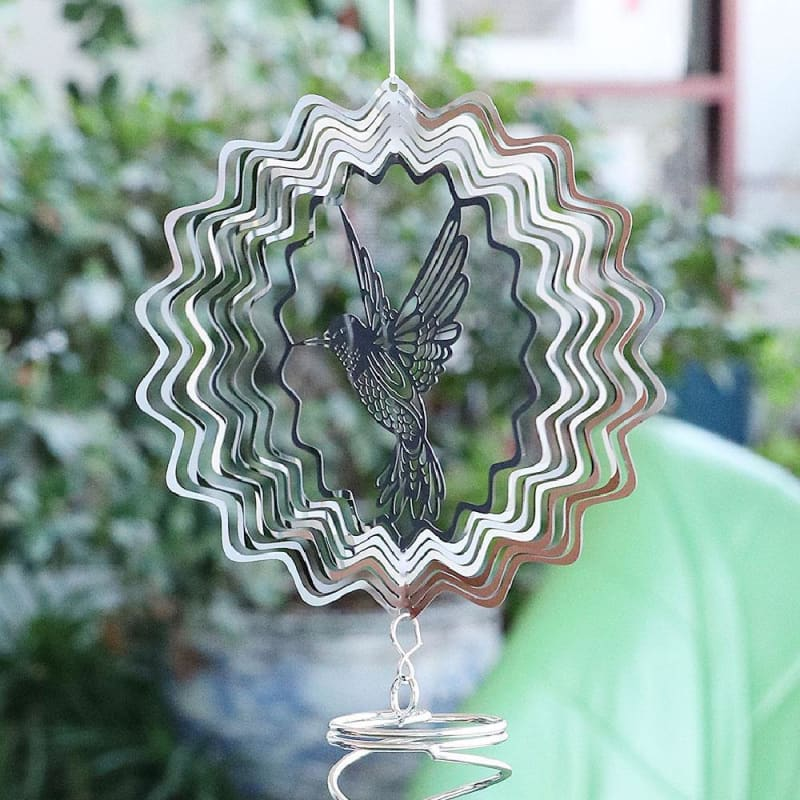 Hot-Selling Stainless Steel Wind Chimes Can Be Used For Home Garden Decoration And Beautification - My Web Store Shopping