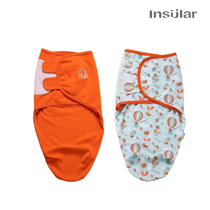 Insular 2 pcs set Baby Sleeping Bag Cocoon Newborns Infant Cotton Knit Baby Swaddles Wrap Blankets - My Web Store Shopping