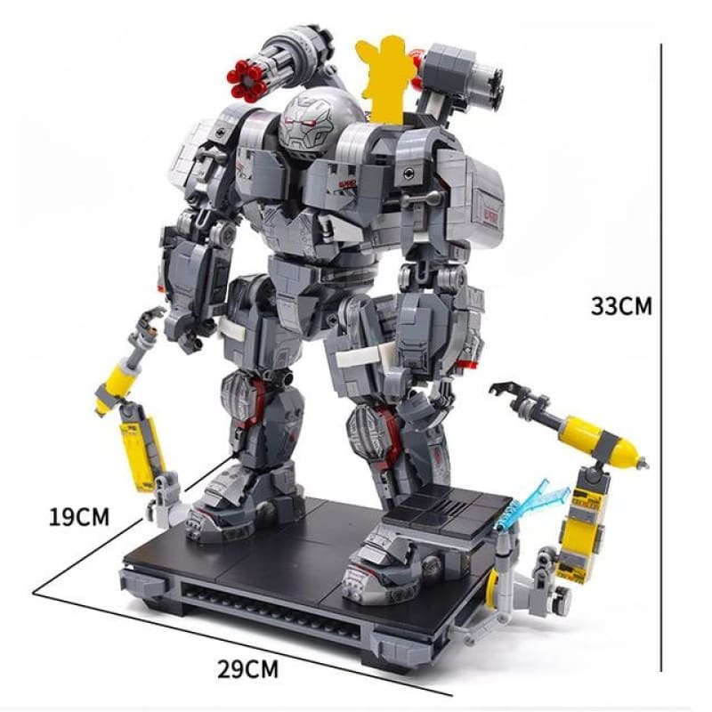 Load image into Gallery viewer, Ironman Avengers 4 Endgame Iron Man War Machine Buster Marvel Super Heroes Figures legoinglys - My Web Store Shopping