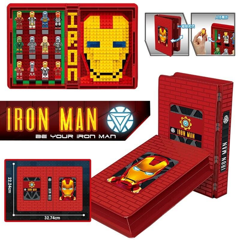 Ironman Avengers 4 Endgame Iron Man War Machine Buster Marvel Super Heroes Figures legoinglys - My Web Store Shopping
