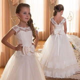 Kids Bridesmaid Flower Dresses For Party and Wedding Dress Children Pageant Gown Girls Princess - My Web Store Shopping