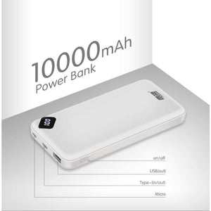 Load image into Gallery viewer, Leise Power Bank 10000mAh Portable USB External Battery For Xiaomi Mi 9 8 iPhone - My Web Store Shopping