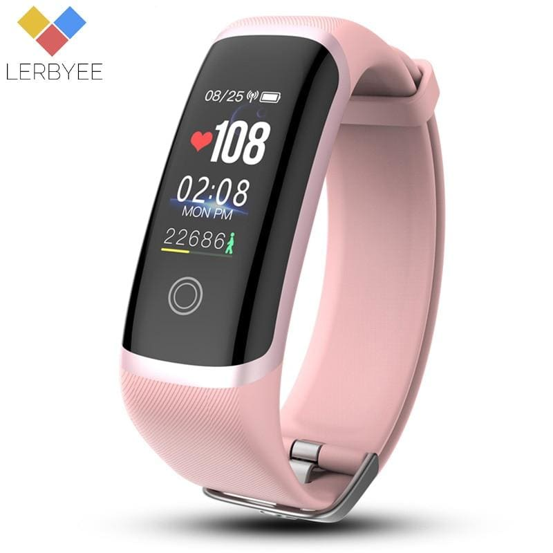 Smart Bracelet M4 Heart Rate Monitor Nrf52832 Fitness Tracker Watch Color Screen Call Reminder Smart - My Web Store Shopping