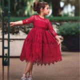 Little Girl Ceremonies Dress Baby Children's Clothing Girls Clothes Wedding Party Gown - My Web Store Shopping