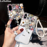 Luxury Bling Jewelled Rhinestone Diamond Crystal Soft Case Cover For Xiaomi Redmi 5 6 4X 5A 6A 8A - My Web Store Shopping